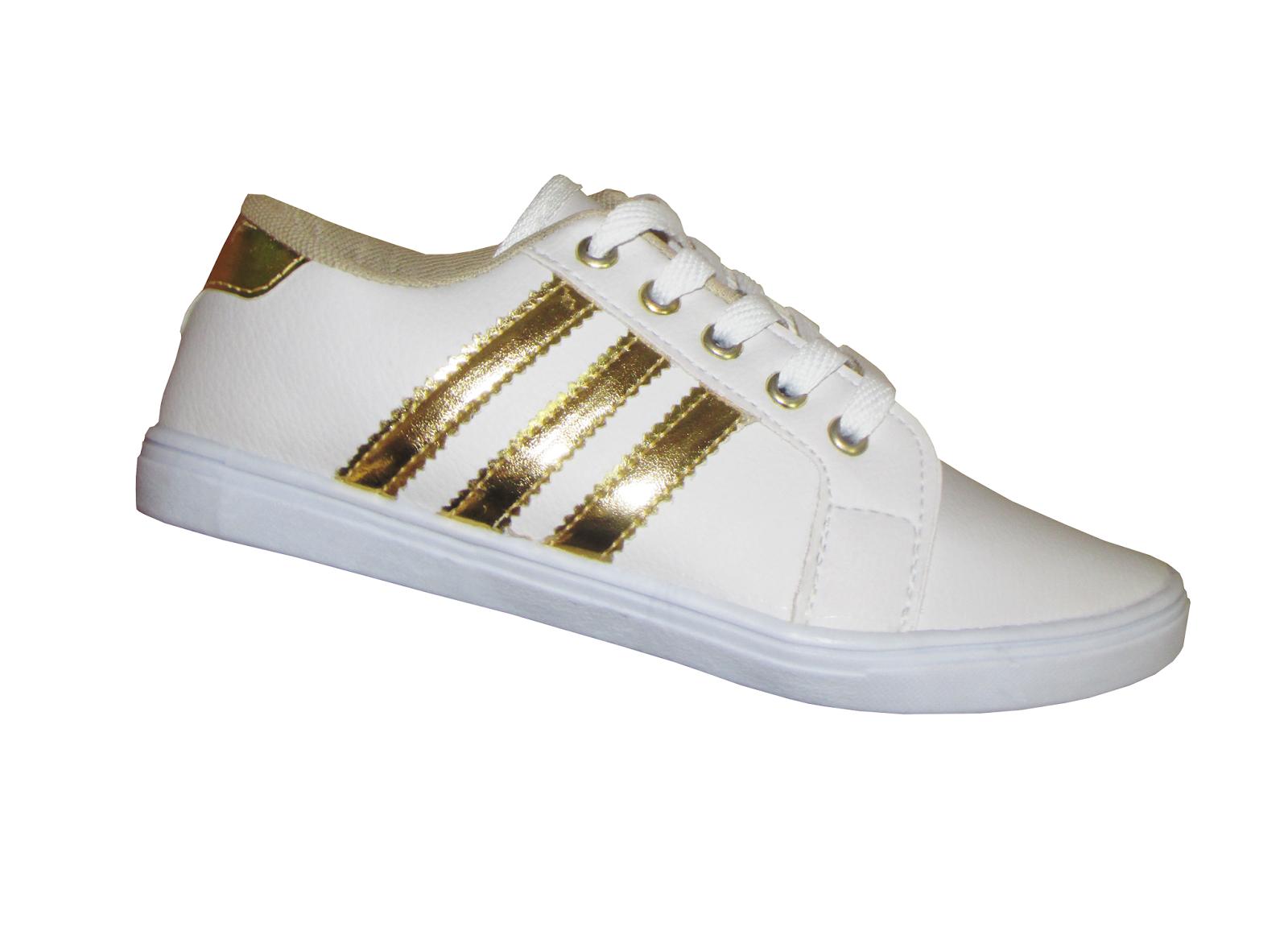 c6cec4008b6 Donma Calçados  Tênis feminino Adidas Listras - Uma ótima opção para ...