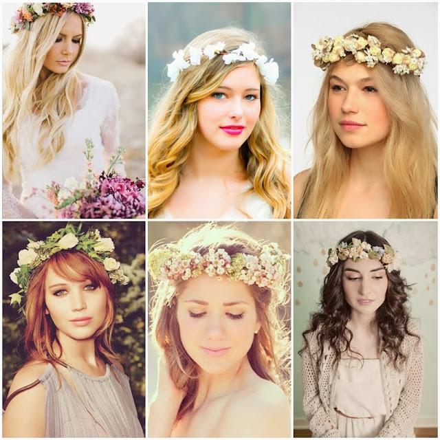 Resultado de imagem para famosas  coroa de flores de varios tamanhos