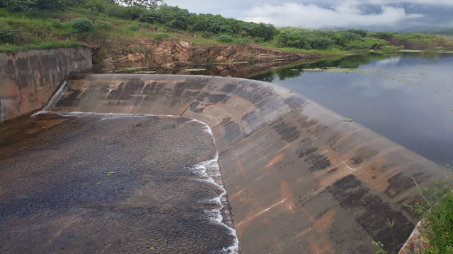 Barragem Jatobá de Ipueiras é o 35º a sangrar em 2019