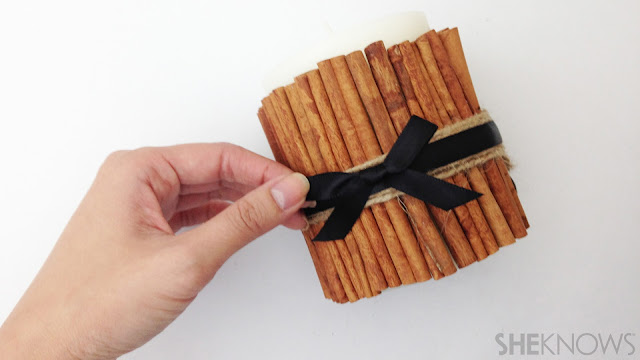 Ioanna's Notebook - DIY Cinnamon scented candle - step 06