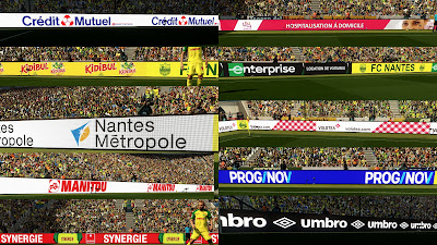 PES 2018 Ligue 1 Adboards by Chosefs