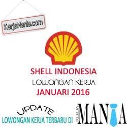 Lowongan Kerja Shell Indonesia Januari 2016