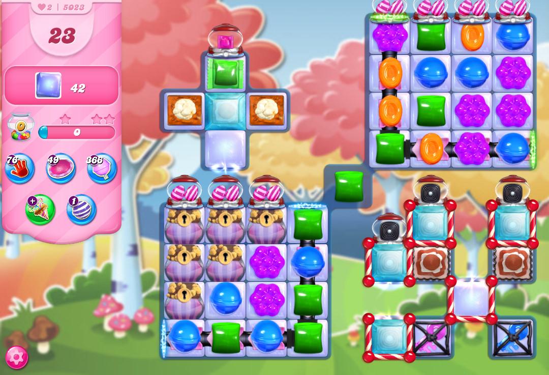 Candy Crush Saga level 5023