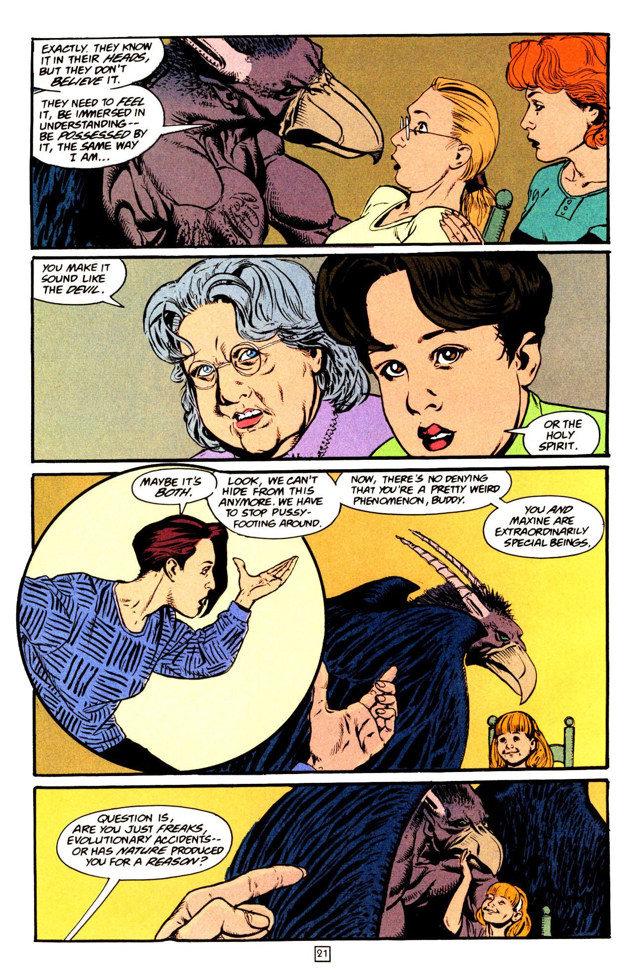 Read online Animal Man (1988) comic -  Issue #72 - 22
