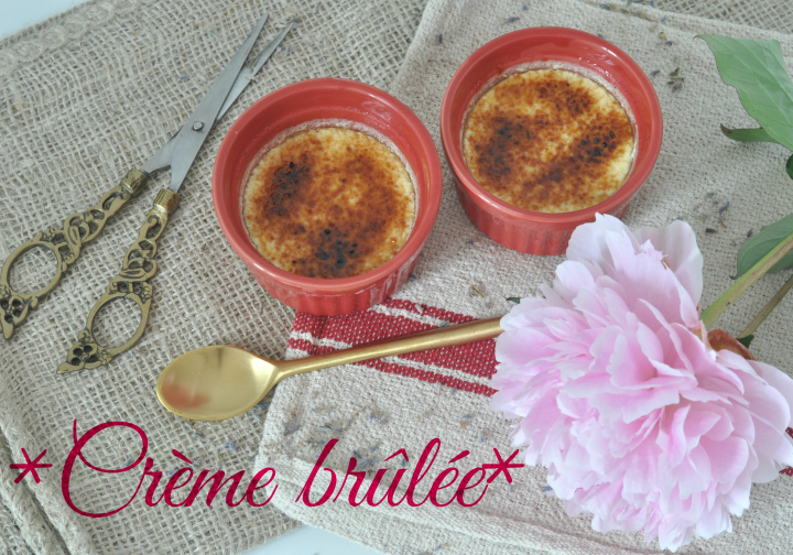 glutenfree Crème brûlée, the perfect treat for summer!