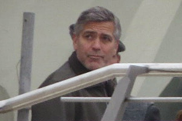 George Clooney in the movie Tomorrowland