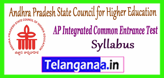 AP ICET Andhra Pradesh Integrated Common Entrance Test Syllabus 2018