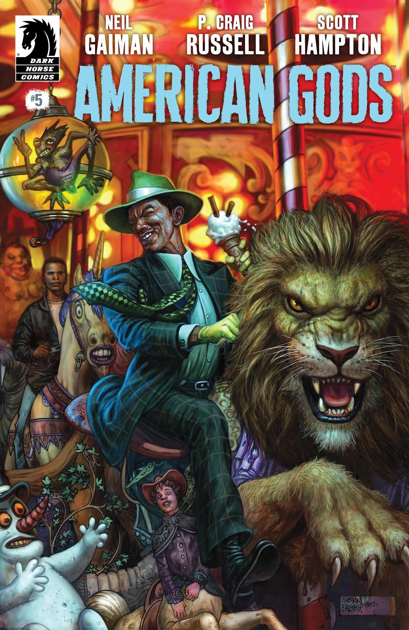 American Gods: Shadows 5 Page 1