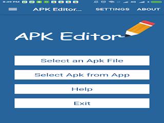 Aplikasi APK Editor Pro