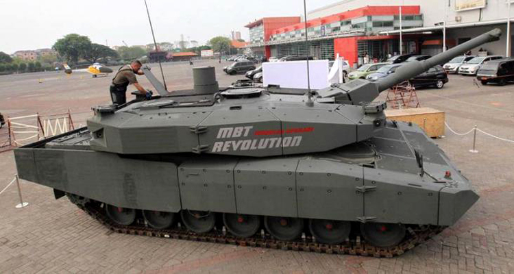 Main Battle Tank Leopard Jakarta Internatonal Expo