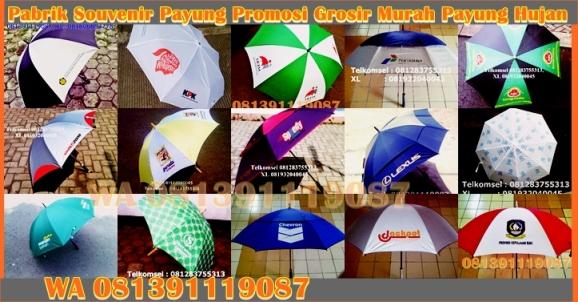 Payung golf, payung promosi, payung souvenir souvenir payung, payung lipat, payung transparan, payung lipat 3, payung lipat 2, payung standard