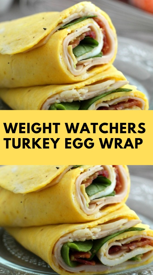 Weight Watchers Turkey Egg Wrap #egg #weightwatchers #maindish #lunch