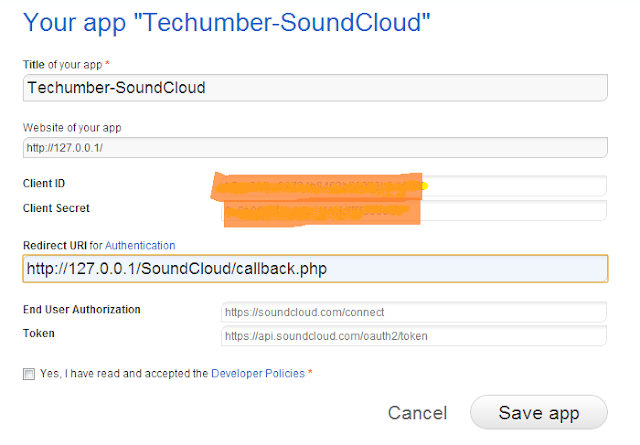Sound Cloud Tutorials-Getting Started-Registering-App