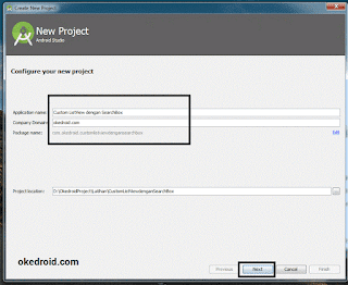 Configure New Project