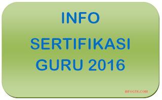 Sertifikasi Guru Terbaru 2016 sergur.kemdiknas.go.id