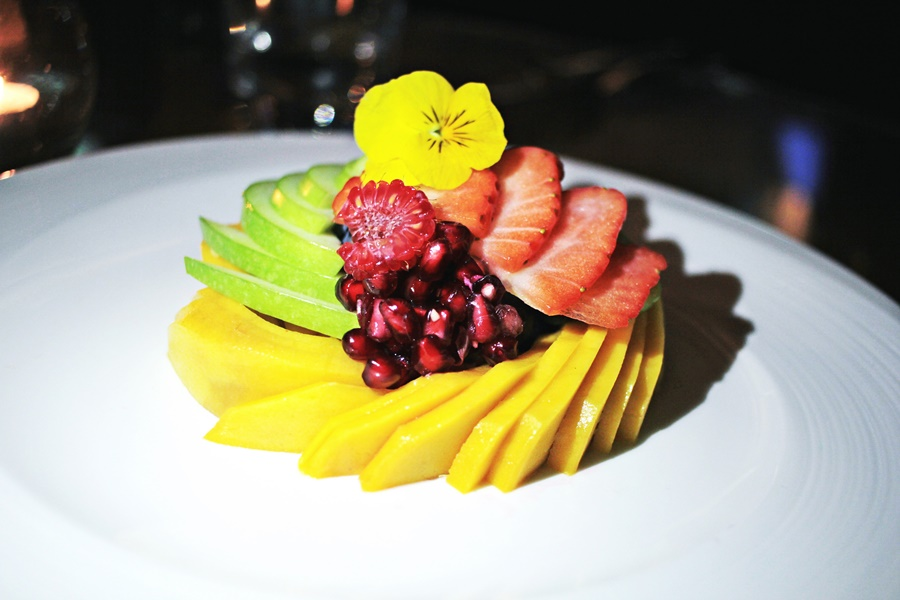 vegan dessert fruit fresh food art