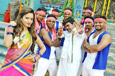 Virus - Telugu Movie Navel Still