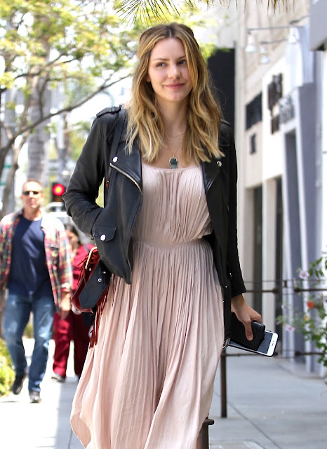Actress, Singer, @ Katharine McPhee - out and about candids in Los Angeles