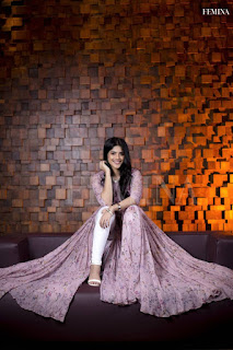 Indian Model Megha Akash Picture shoot for Femina Magazine (1)