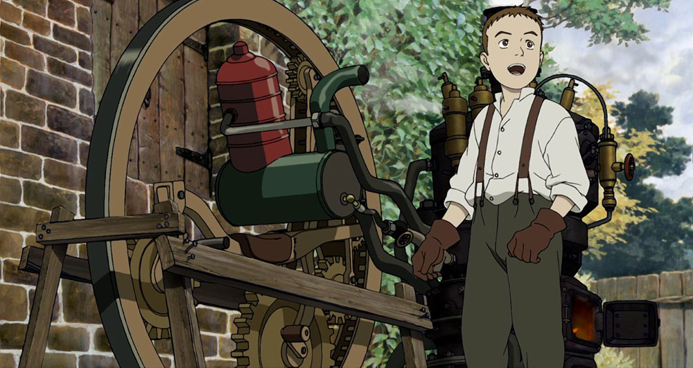 Steamboy. Anime Steampunk