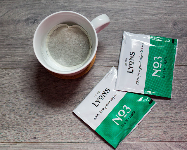 Lyons Coffee Bag in a Cup