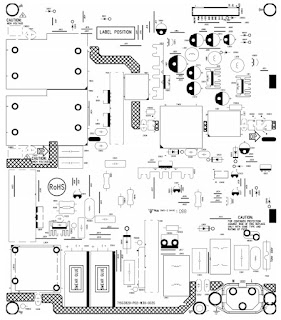 Electro help: 715G3829P02 LCD TV power supply circuit