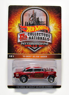 Hot Wheels 17th Annual Collectors Nationals Pittsburgh, PA '55 Chevy Bel Air Gasser