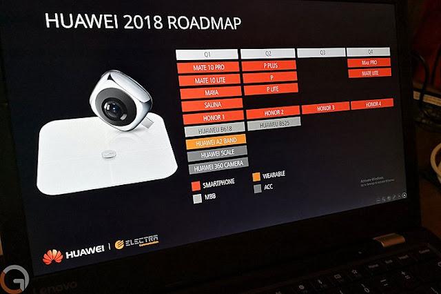 Inilah roadmap jadwal perilisan smartphone baru dari vendor Huawei untuk tahun 2018