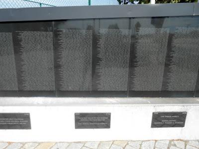 Vietnam Memorial Wall in Wildwood New Jersey