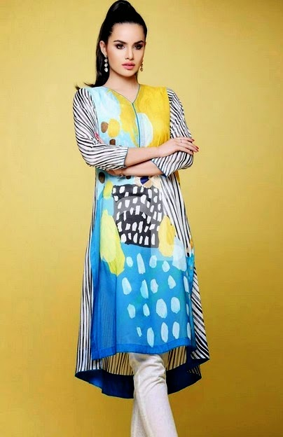Latest Nishat Linen Pret Collection 2014