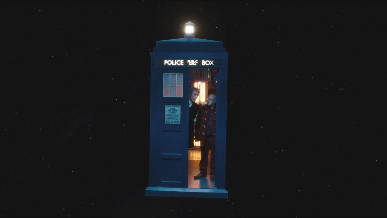 doctor who, BBC, peter capaldi, Nardole, Tardis,