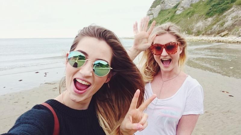 Isle of Wight, Whitecliff Bay, things to do on Isle of Wight, travel blogs UK, UK lifestyle bloggers