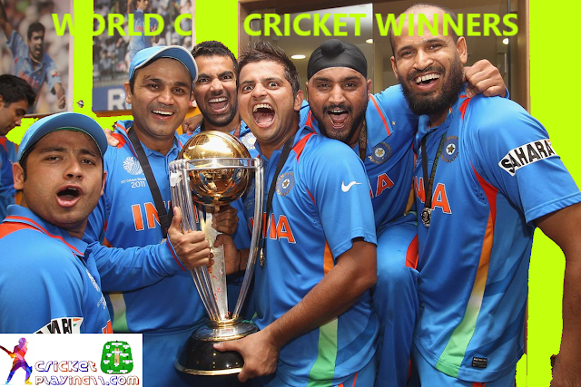 Cricket world cup winners 2019 | world cup cricket winners