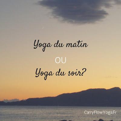 yoga moment routine chez soi