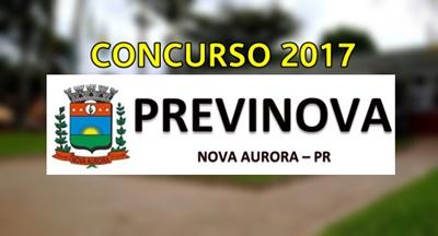 Concurso PREVINOVA PR 2017