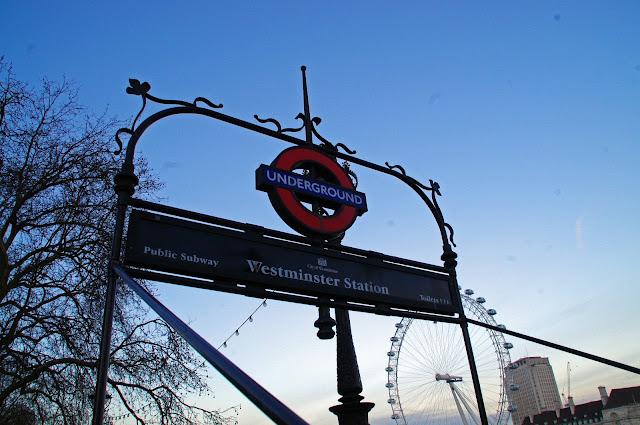 Westminster Tube Station London