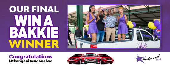 Hollywoodbets-Third-Win-A-Bakkie-Competition-Winner