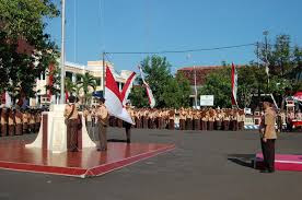 Salam hormat diberikan kepada bendera merah putih, presiden, temu negara dan jenazah
