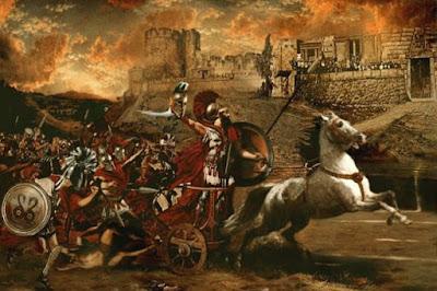 Ο Τρωικός Πόλεμος ήταν η τελική μάχη ενός πρώτου παγκοσμίου πολέμου;