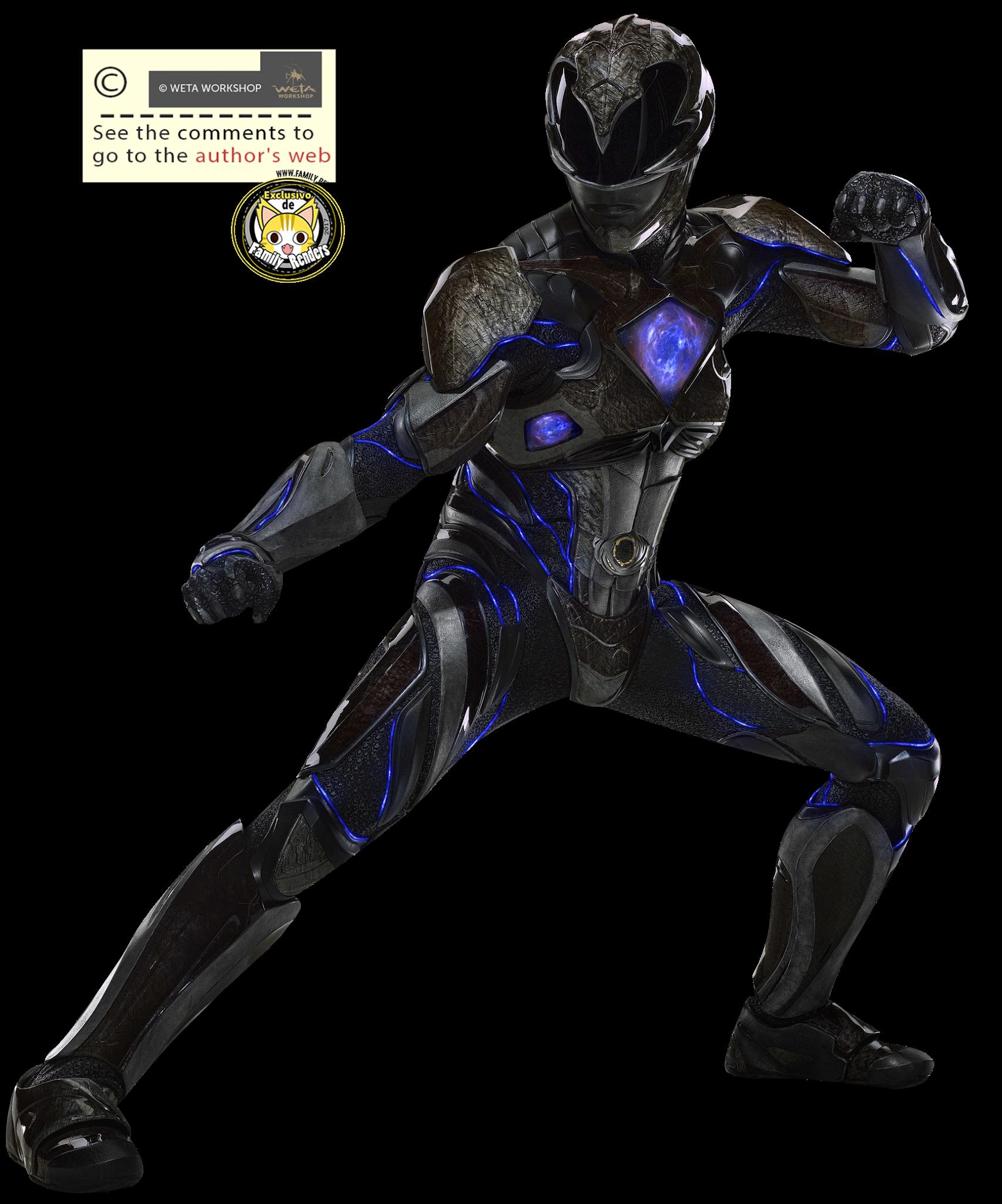 render Black Ranger