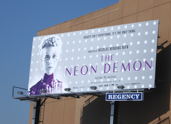 The Neon Demon movie billboard