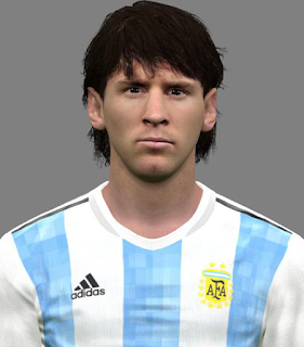 PES 2017 Young Lionel Messi by Jonathan Facemaker