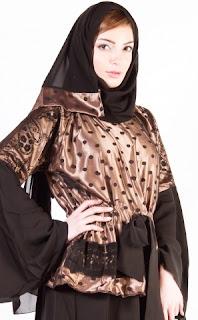 Latest Abaya/Jubah Designs 2014-15 fashionwearstyle.com