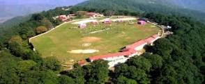 Cricket ground in Chail