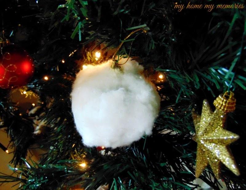 χριστουγεννιάτικη-μπαλα-με-βαμβάκι