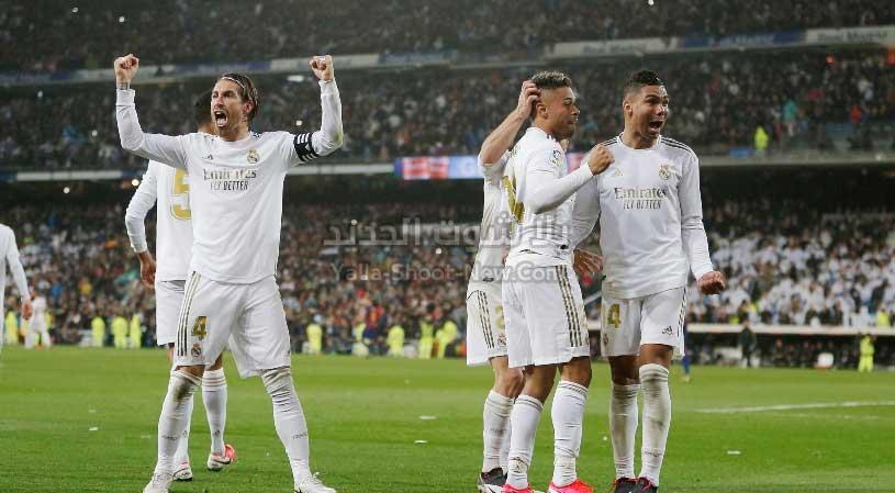 ريال مدريد يقترب من الاتفاق مع الاعبين لتخفيض الرواتب