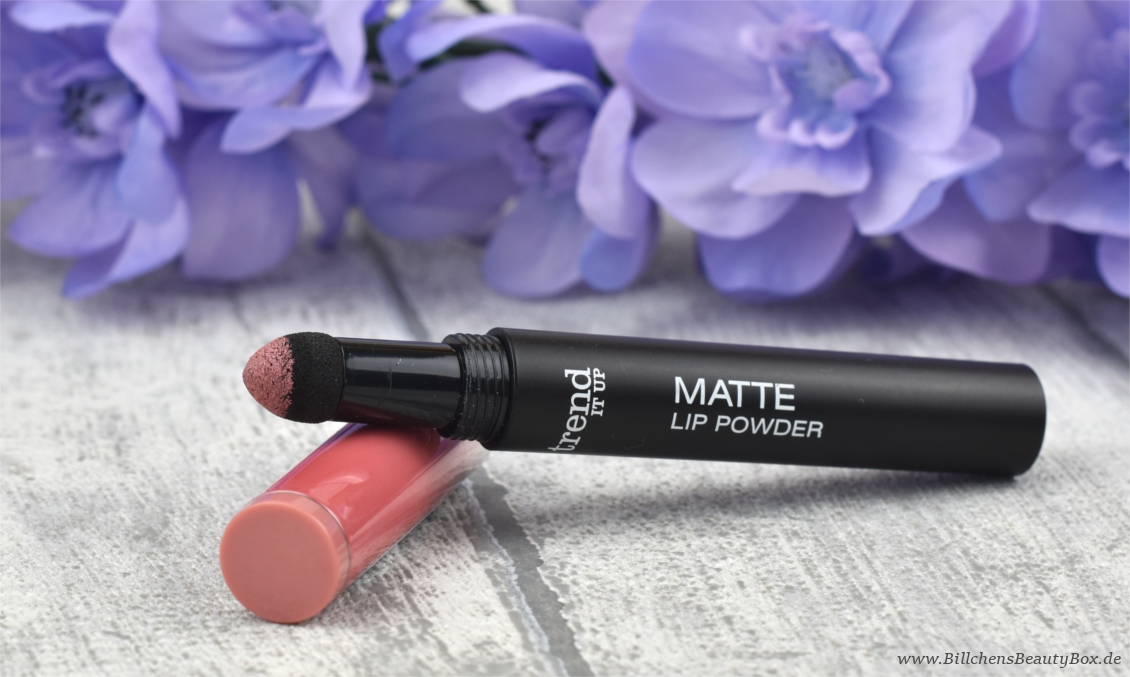 trend IT UP - neues Sortiment Frühling und Sommer 2017 - Matt Lip Powder