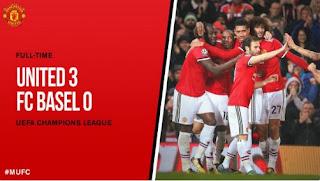Manchester United vs Basel 3-0 Liga Champions