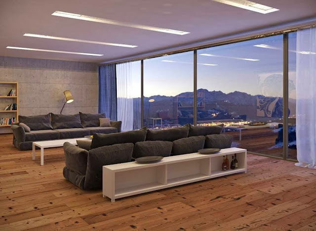 Living rooms desain with great views