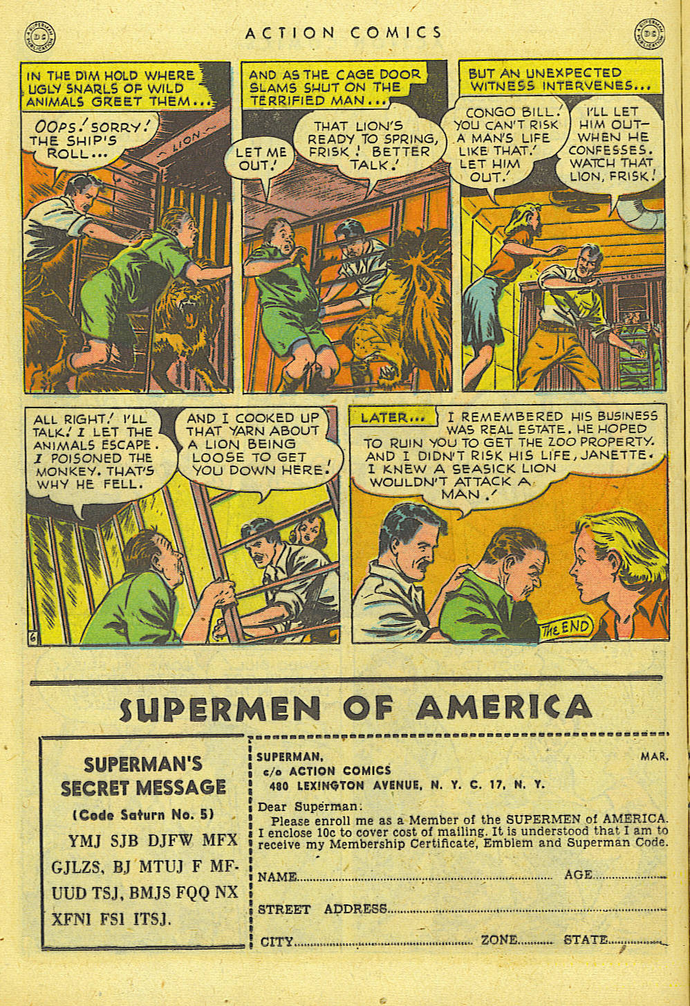Read online Action Comics (1938) comic -  Issue #118 - 19
